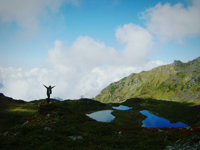 At The Edge Of The World Langtang National Park Nepal 5 Lakes Flying High Nature