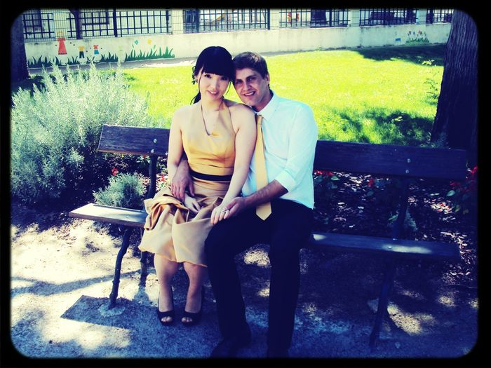 Me and my love in our special day Hanging Out Forever <3 Love
