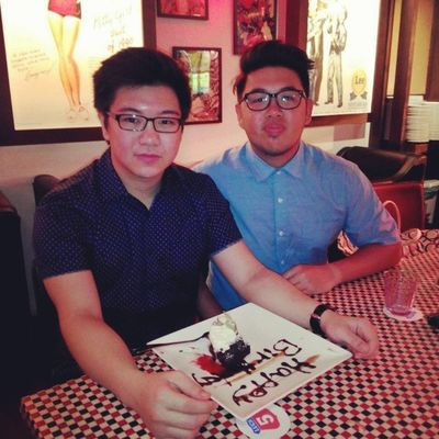 Dine with my bday boy @kevinlimanto