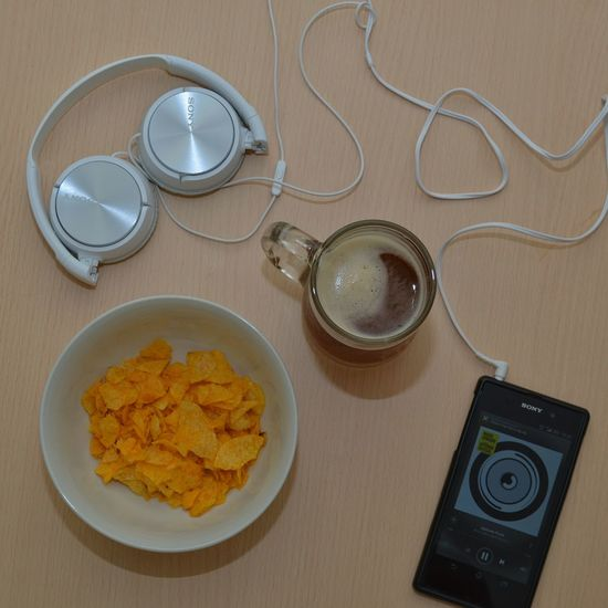 Chillin on a weekend. Chilling Sound Trip Phone Chips Drinks Snack Headset Things I Like Human Meets Technology