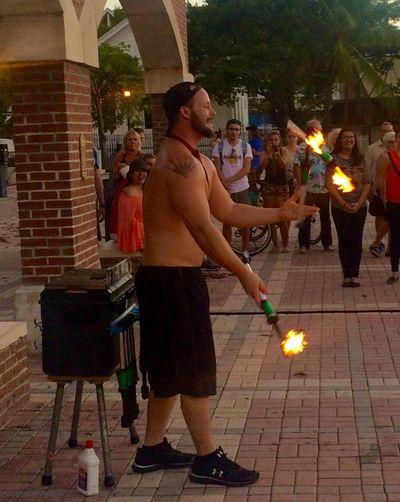 Juggler at Mallory Square Sunsetcelebration Keywest Florida LoveFl Conchfused Streetperformer