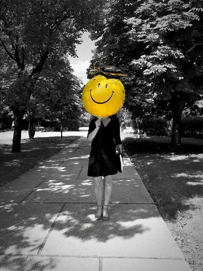 Happy People Gradiation Smile Face Smile Odtü Hello World Cheese! That's Me