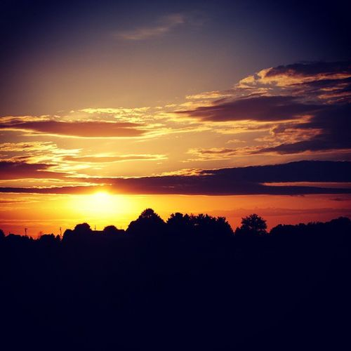 Love watching sunsets :-) Sunset Morristown Tn Summer Nights