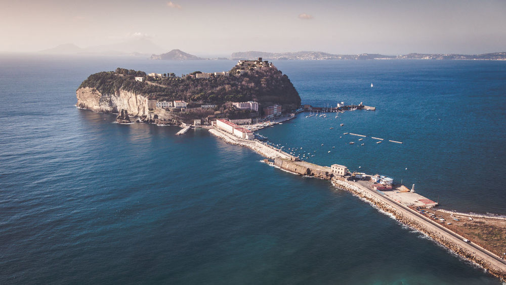 View of the island of Nisida in Campania Naples Campania Detention Center Italy Nature Nisida Island Nisidaviewpoint Prison Scenics Sea Water