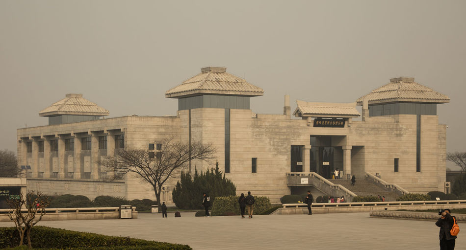 Terra Cotta Warriors Terra Cotta Warriors Xi'an China Chinese Culture Chinese HIstory Chinese Art Architecture Building Exterior Built Structure History Scultpture The Past Travel Travel Destinations