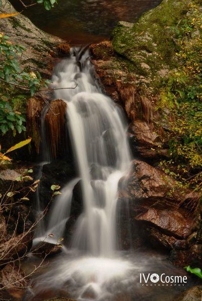Waterfall Long Exposure Scenics Water Nature Tranquility Silent Moment Serradaestrela Seia Portugal