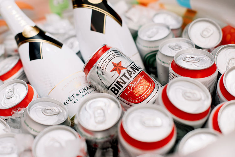 Bintang Beer is a brand of beer from Indonesia and is produced by PT Multi Bintang Indonesia Tbk, part of Heineken Beer Bintang Beer HaveFun INDONESIA LetsGetDrunk Backgrounds Bintang Bottle Cap Cheers Choice Close-up Drink Metal Neverenough Refreshing Selective Focus Silver Colored Still Life White Color