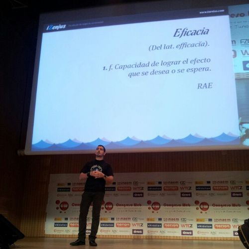 "@rtayar en Cw12 ""Sitios webs eficaces"" Ecommercecw Fotoscw"
