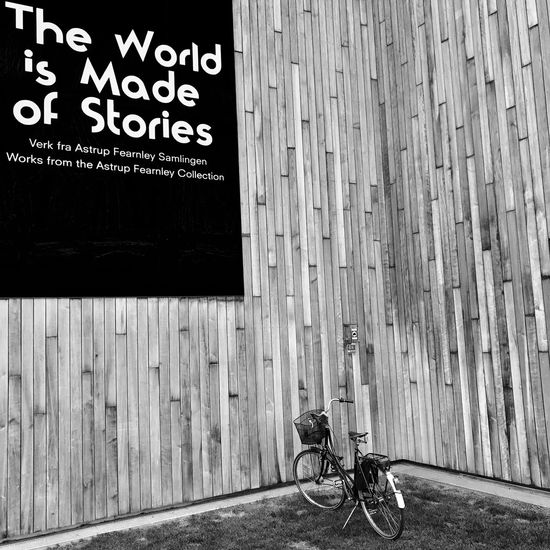 The Photojournalist - 2017 EyeEm Awards Bicycle Text Day Transportation Built Structure Outdoors Architecture Mode Of Transport No People Building Exterior Close-up Bnwlovers Stories Astrup Fearnley Oslo