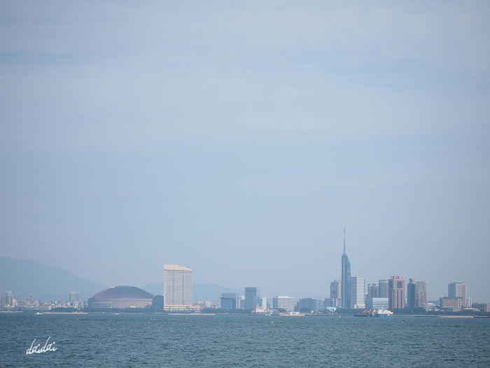 この空の下 E-PL3 TOWNSCAPE Sky Sea 僕が住む街 Noedit