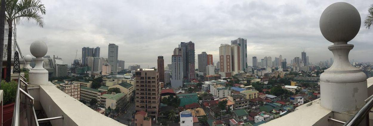 View from Hotel Benilde, Manila