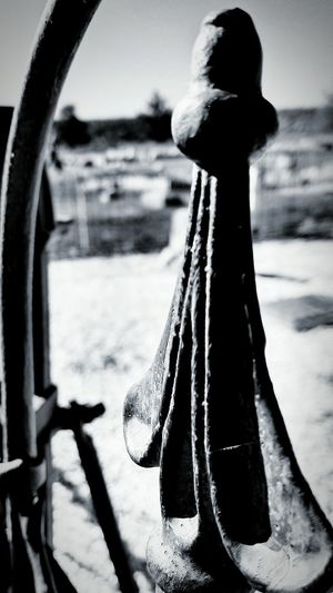 Dayton Cemetary Monument Pattern, Texture, Shape And Form Black And White Collection  Nevada Cemetery Photography Cemetary Wrought Iron Fencing Wrought Iron