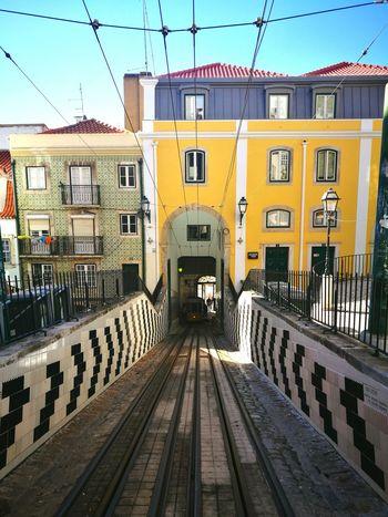 Built Structure Building Exterior Architecture City Transportation No People Rail Transportation Connection Public Transportation Lisboa Travel Photography Lisboa Portugal