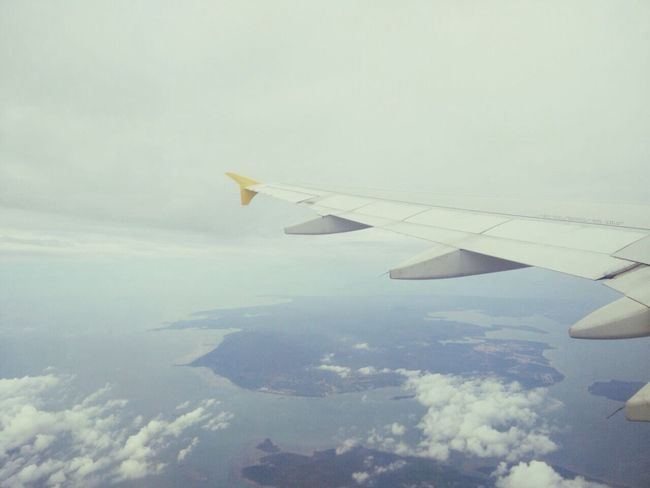 From An Airplane Window Traveling INDONESIA LifeInIndo
