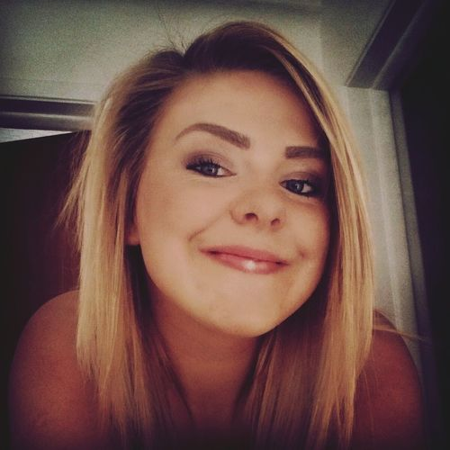 Selfie Close Up Smile