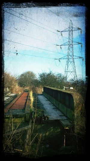 Power Lines Pylons Hello World