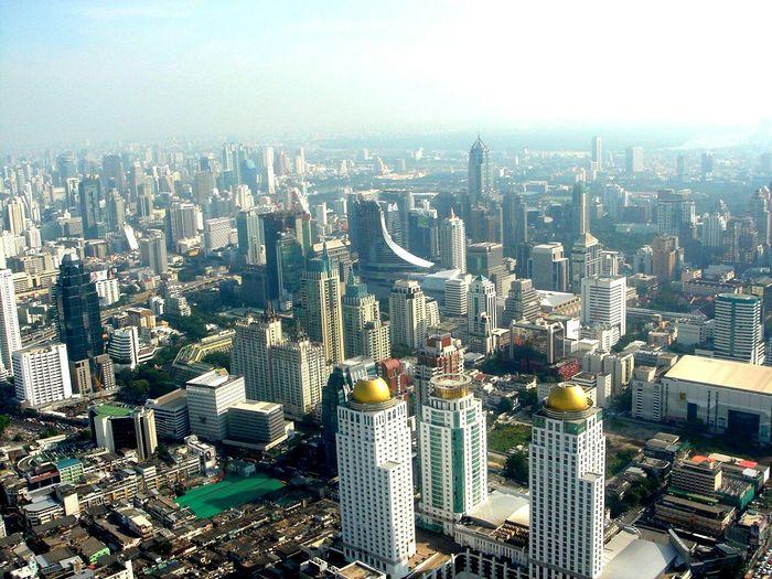 In Bangkok Bangkok Bangkok Thailand. Bangkok City Bangkok Thailand Bangkok View Baiyoke Tower Baiyoketower Bayoke Sky