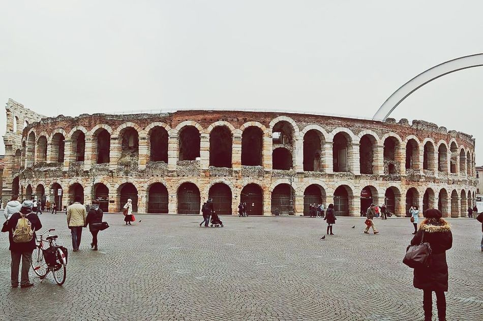 Arena Roman Verona Gladiator City Center Photography Panaromic Nikon