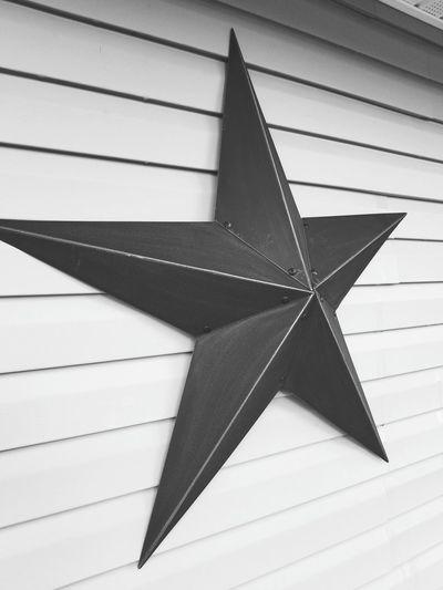 Black Star Blackandwhite Black And White Photography Stars Star House Close-up Star Shape Geometry Shape