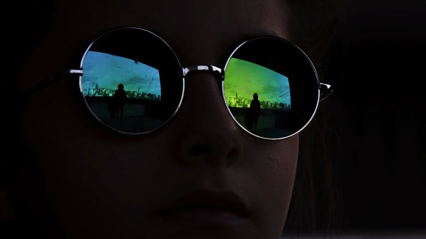 Streetphotography One Person Street Green Color Mirror EyeEm Urban Istanbul Silhouette Street Photography Abstract Creativity People Photography Girl Face Abstract Photography Eyeglasses  Eyesight Eyewear Sunglasses Close-up Reflection Side-view Mirror