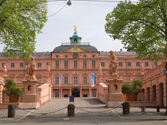 rastatt barocj castle Castle Architecture Building Exterior Built Structure City Day No People Outdoors Sky