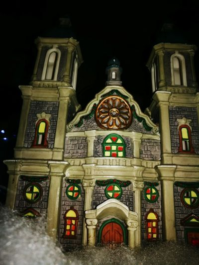 Religion Architecture Place Of Worship Night Spirituality No People Building Exterior Built Structure Travel Destinations Outdoors Illuminated Sky Celebration Christmas Ornament Chrstmas Decoration Decoration Tradition Chirstmas Christmas Decoration Shadows & Lights Christmas Christmaslights Architecture Holiday - Event Christmas Lights