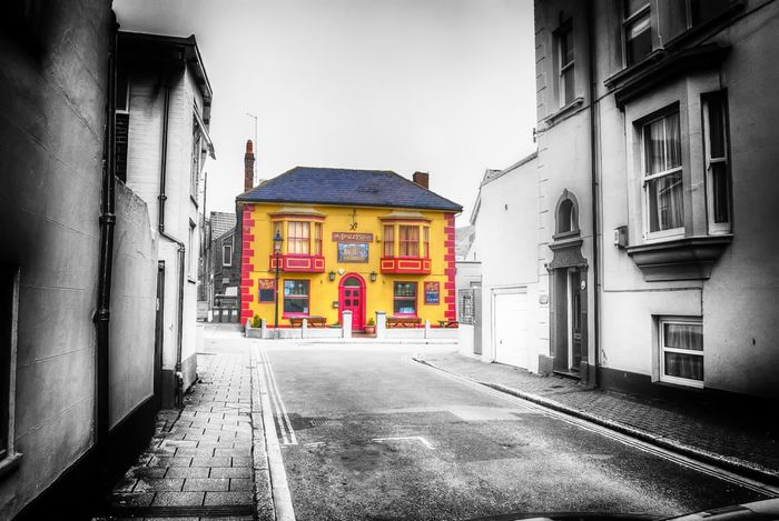 Southsea Portsmouth Pub Public House Colour Splash FxEyeEm Editing :-)