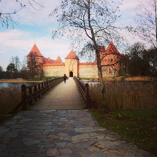 Trakai Литва Castle