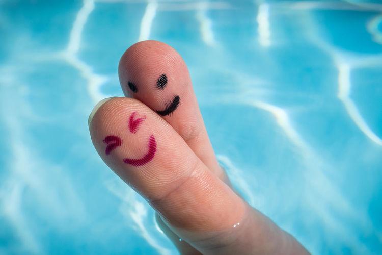 Happy finger