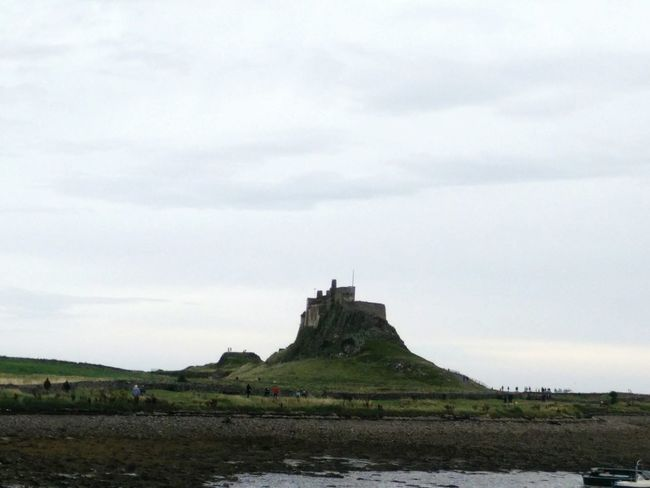 Travel Tourism Travel Destinations History Architecture Outdoors No People Representing Sky Day Mammal Island Lindisfarne Holy Island Lindisfarne Castle Holy Island Castle