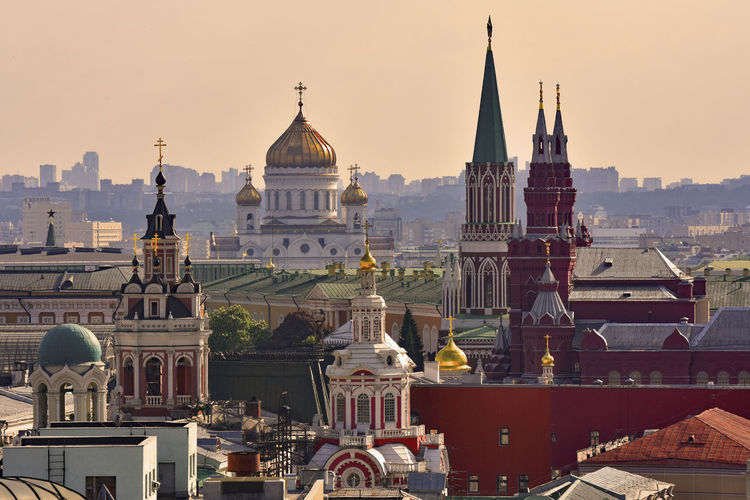 Moscow old town view