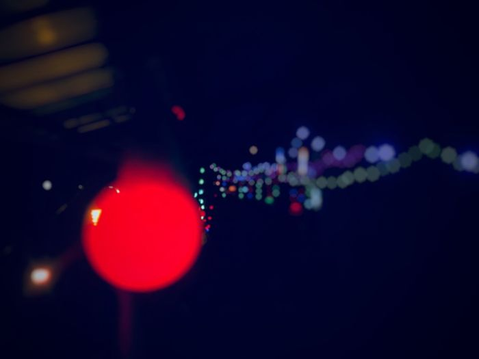 Lamps in the night Light Lamps Illuminated No People Night Lighting Equipment Light - Natural Phenomenon Close-up Red Indoors  Circle