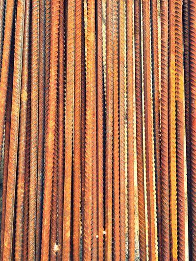 Full Frame Shot Of Rusty Rod