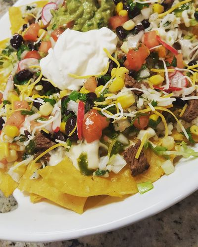 Steak Nachos Freshness Food And Drink Ready-to-eat No People Steak Tacos Foodie Mexican Food Nachosandchili Foodporn Savory Food Food Freshness Food And Drink Food Porn Day Healthy Eating Snack Food