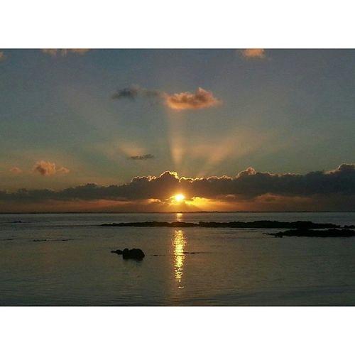 Igersmauritius Sunrise Bellemare Mauritius light