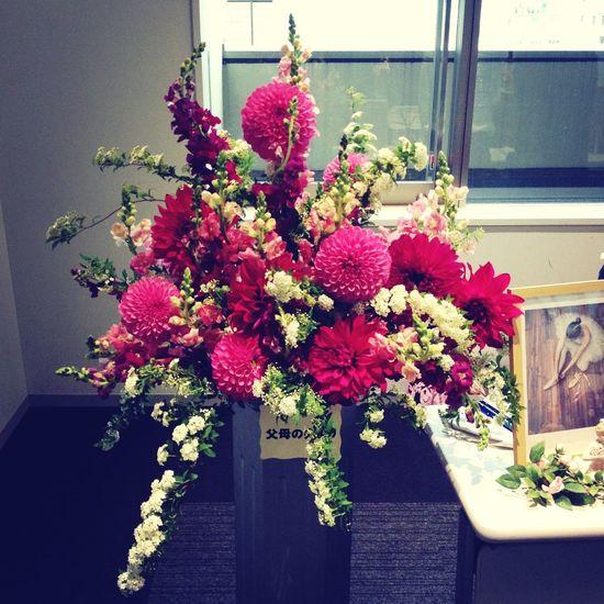 Flowers Recital Reception Ballet Class