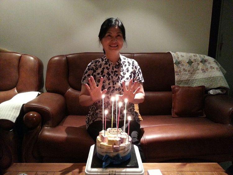 Birthday Family Mom with mom♥