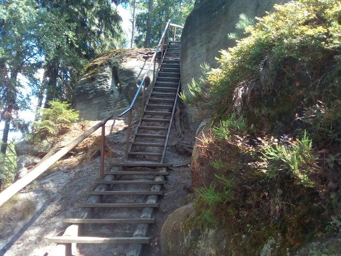 Berg Treppe