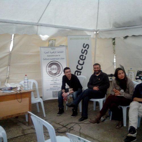 WSF2015 Clibre AccessNow & RSF Reporters sans Frontières au FSM2015