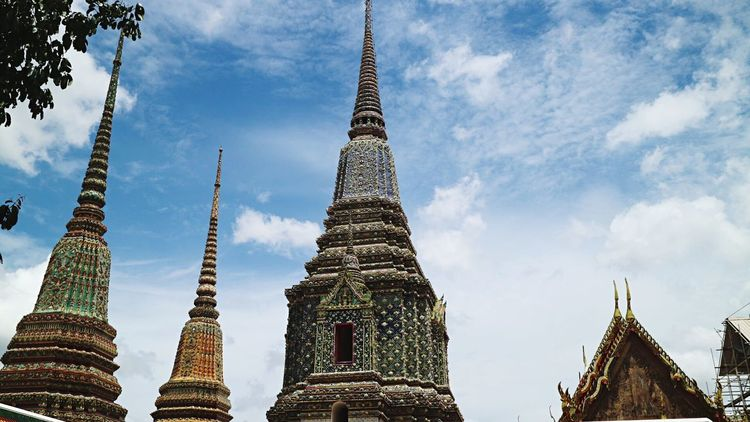 EyeEm Selects Built Structure Bangkok Watarun Watpho Palace Thailand