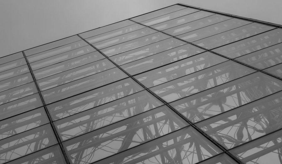 Louvre Museum Musée Du Louvre France Paris Pattern Pattern Glass - Material Building Geometric Shape Outdoors