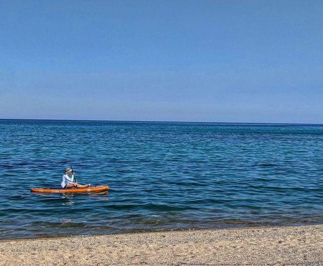 Water Oar Sea