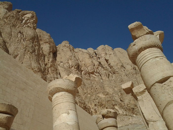 Architecture Built Structure Clear Sky Day Low Angle View Luxer Egypt Nature No People Outdoors Sky Temple Of Hatshepsut