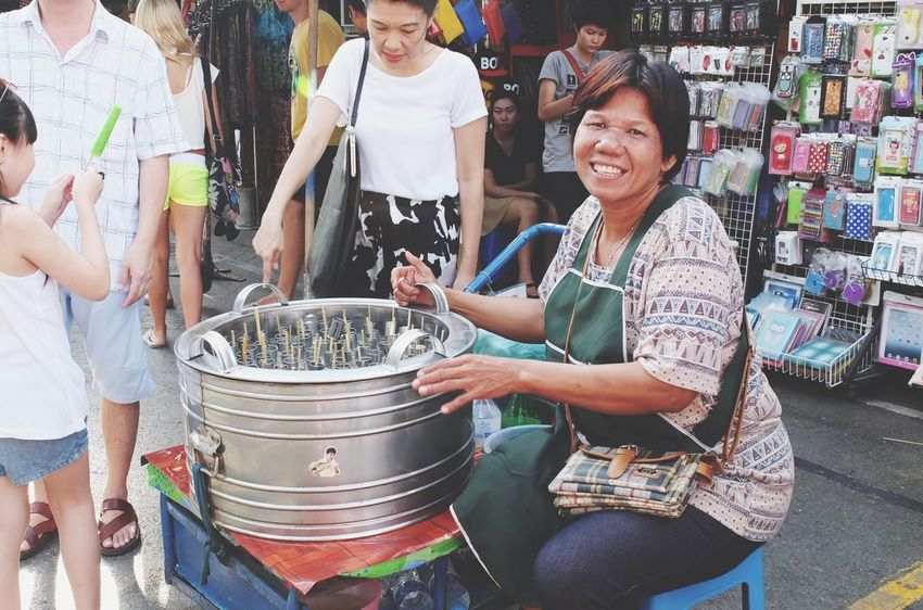 Iceream Streetphotography Business Traveling Thailand Jjmarket Summer Frozen Food Outdoors Street Photography Street Life Bangkok Feel The Journey