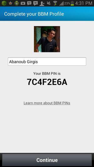 My BBM PIN ;)
