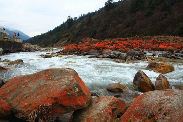 Scenics - Nature Redstones Inchina Nature Rocks Wonderful Beautiful Colorful Amazing Amazing View Photography ASIA Beauty In Nature Scenics - Nature Scenery Landscape Hiking Trail Freshair Places Panorama Panoramic Countryside Outdoors Valley Destination Hill Intensive Water Beach Sky Landscape