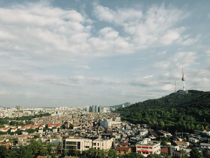 N Seoul Tower EyeEm Best Shots EyeEm Gallery VSCO Vscofilm N Seoul Tower (NamSan Tower) Seoul Korea
