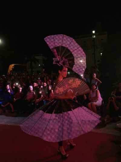 Abanicos Lifestyles Women Celebration Arts Culture And Entertainment Outdoors City People