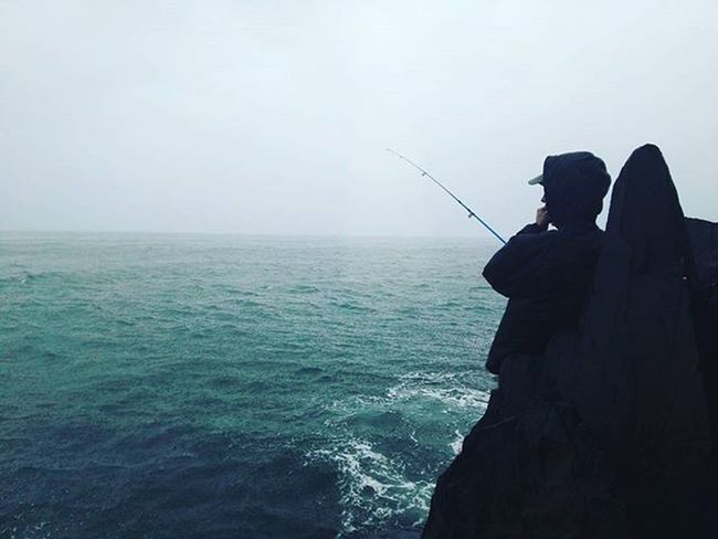 Badweather Fishinglife Niceview Nicetime Wetwetwet