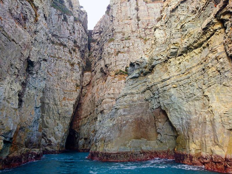 金剛島@South Korea = 無人島 = EyeEm Taiwan South Korea Beauty In Nature Kingkong Island Nature No People Rock Face